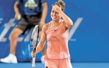 Renata Zarazúa cae en la segunda ronda del Roland Garros