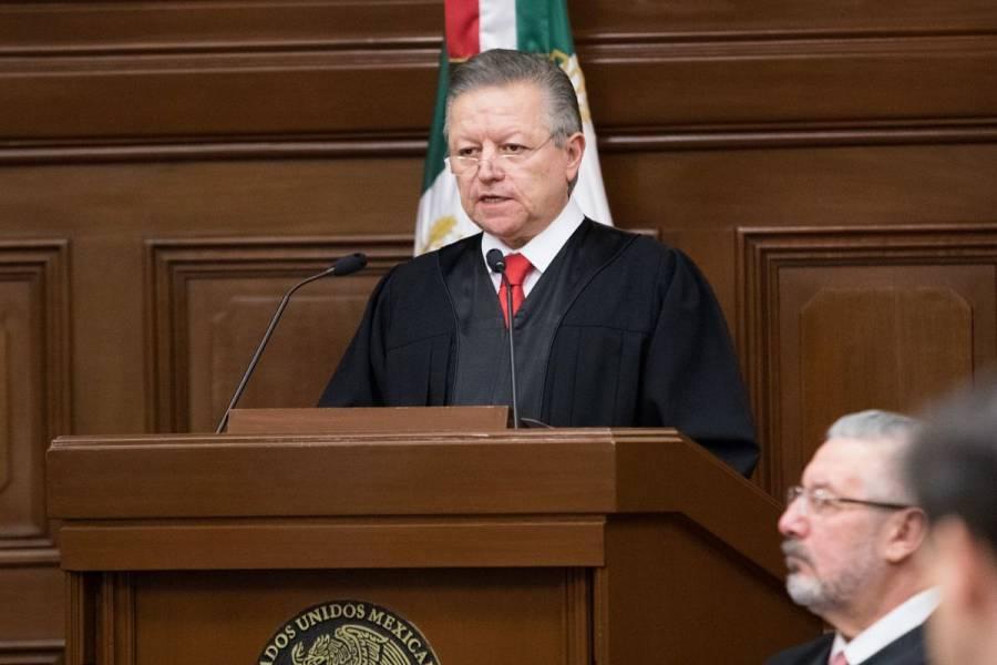 Presidente de SCJN se pronuncia por constitucionalidad de Consulta Ciudadana para enjuiciar a ex presidentes