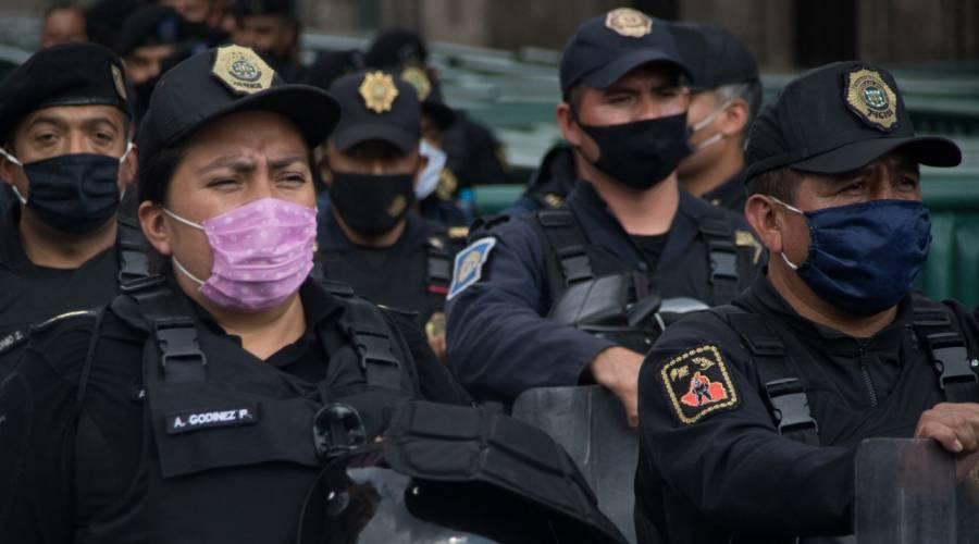 Comité del 68 no convocó a marchar; Policía de CDMX resguarda la zona de Garibaldi
