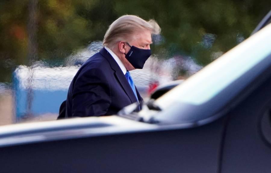 Trump afirma que se encuentra bien, la hospitalización es preventiva