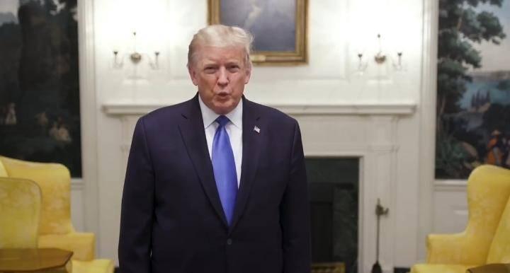 """Con un """"coctel experimental"""" de anticuerpos, Trump trata al Covid-19"""