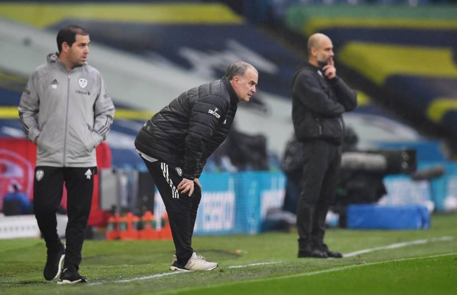Leeds de Bielsa firma el empate con el City de Guardiola