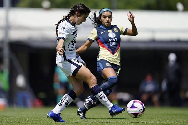 Con gol de último minuto, Pumas femenil empata contra América en el Clásico Capitalino