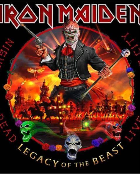Iron Maiden anuncia nuevo álbum en vivo grabado en CDMX