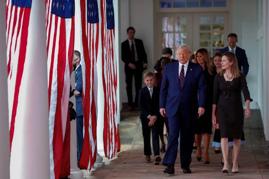 Crecen contagios de COVID-19 en invitados al Rose Garden en la Casa Blanca