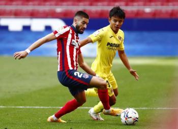 Atlético de Madrid se queda sin gol ante el Villarreal
