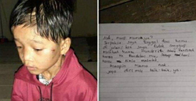 """En Indonesia, abandonan a una menor en una gasolinera; """"se portaba mal"""""""