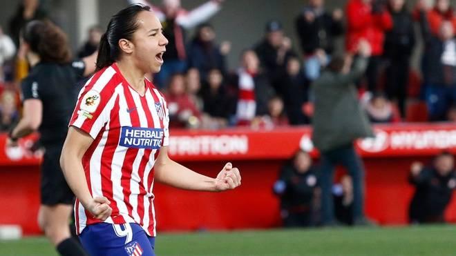 Charlyn Corral sufre lesión en rodilla; causa baja con el Atlético de Madrid Femenino