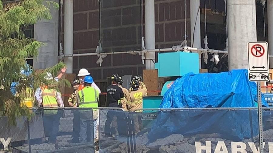 Tres muertos y un herido tras colapso de obra en construcción en Houston