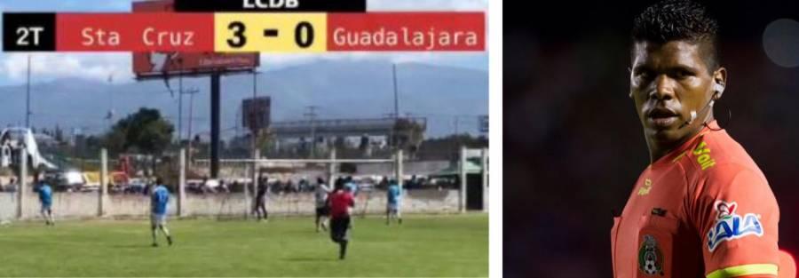 Árbitro de la Liga Mx pitó un partido amateur en Ixtapaluca; cobró hasta 15 mil pesos