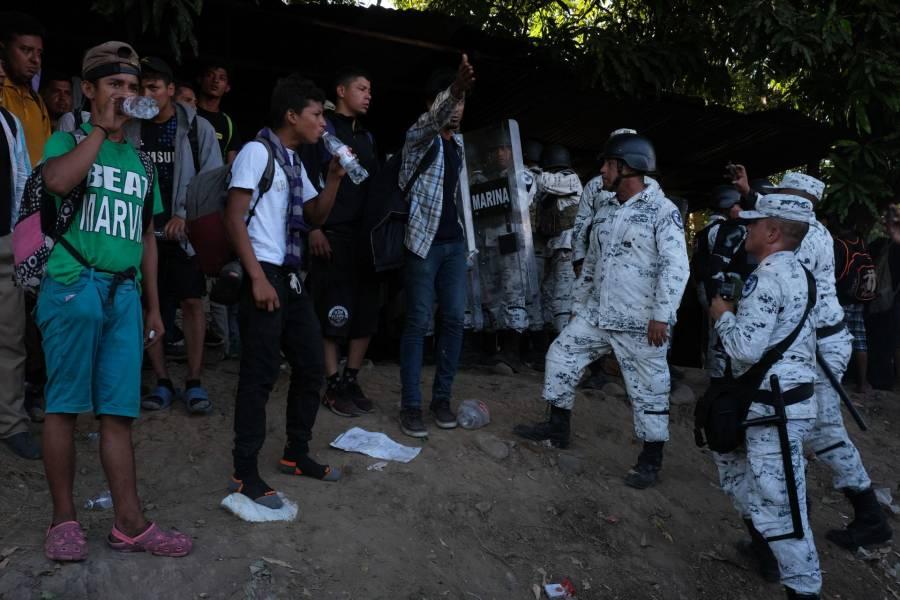 Refuerzan operativo para evitar ingreso de migrantes