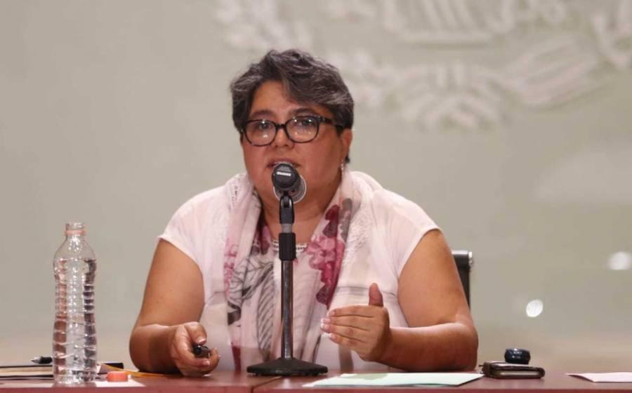 Raquel Buenrostro, jefa del SAT, da positivo a la prueba de Covid-19