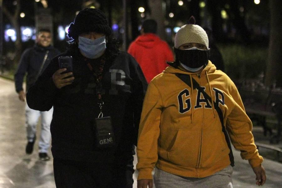 Activan Alerta Amarilla por temperaturas bajas en ocho alcaldías de la CDMX