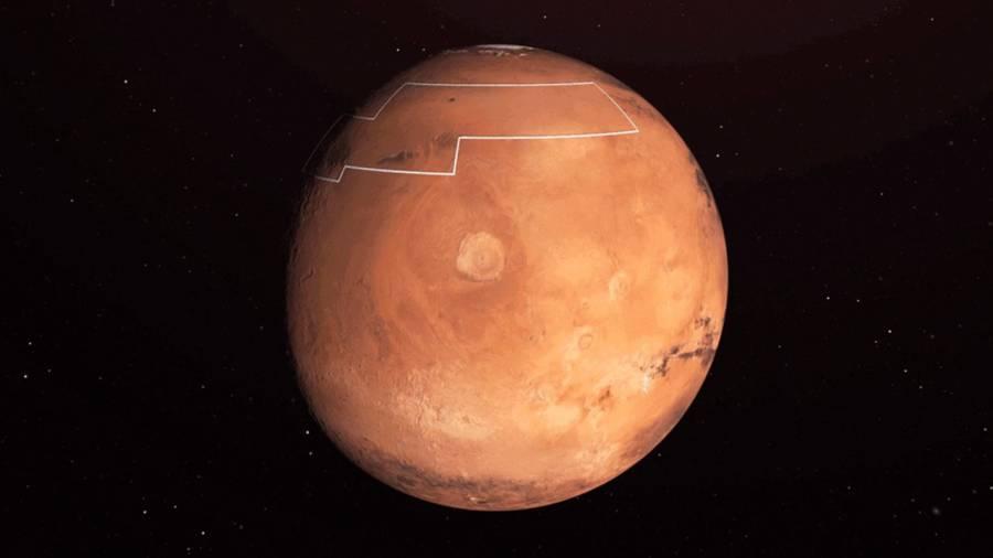 Marte se podrá observar desde la tierra en octubre y más brillante este martes