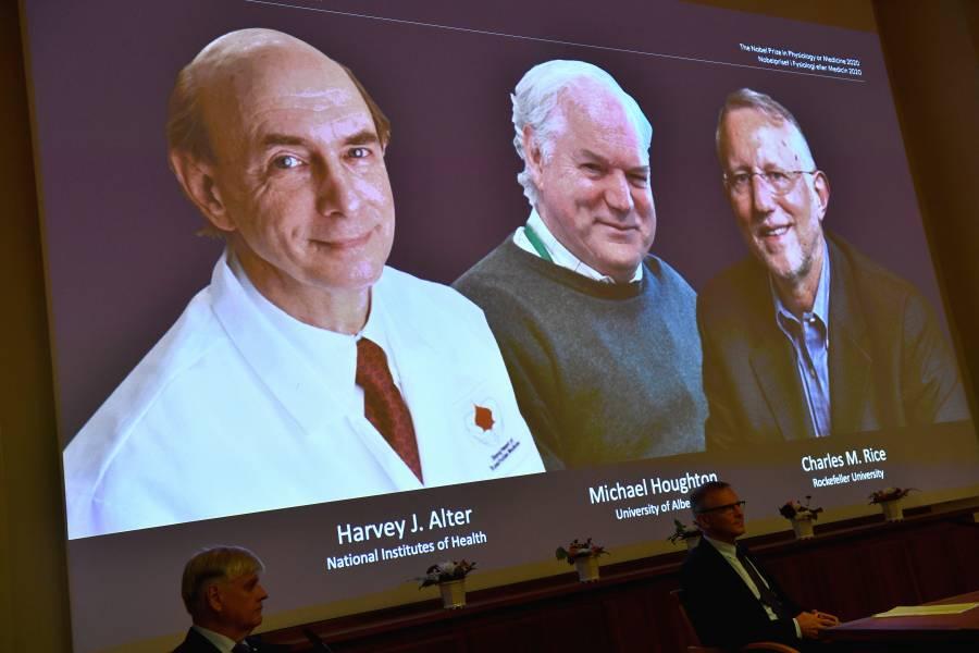 Tres virólogos se llevan  el Nobel de Medicina