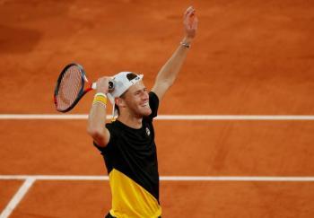 Tras cinco horas, Schwartzman vence a Thiem y se mete a semis en Roland Garros