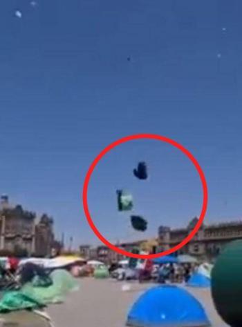 Video: Casas de campaña de FRENA surcan los cielos