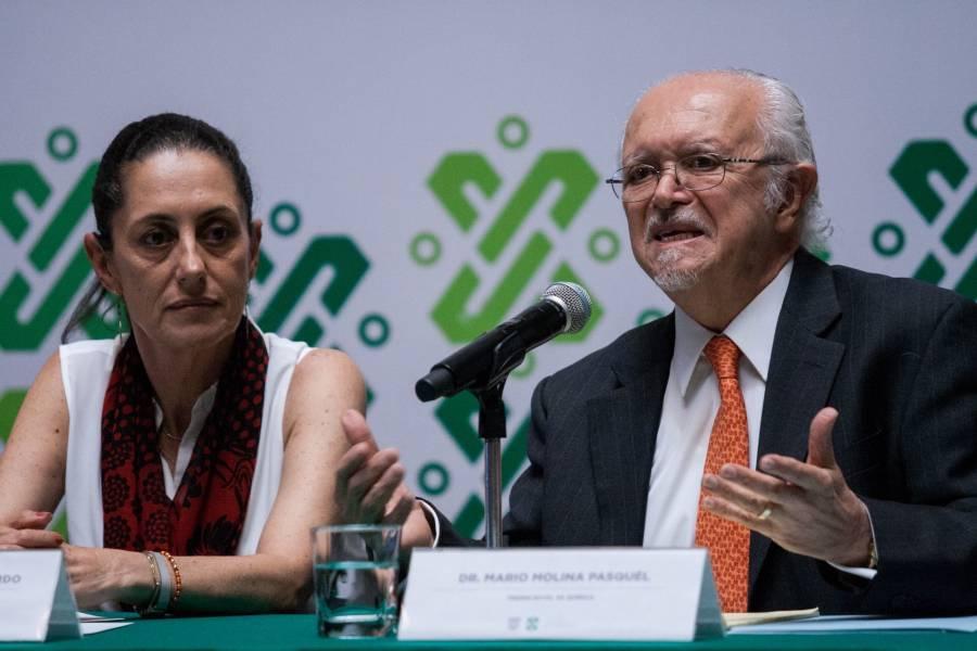 Sheinbaum lamenta el fallecimiento de Mario Molina