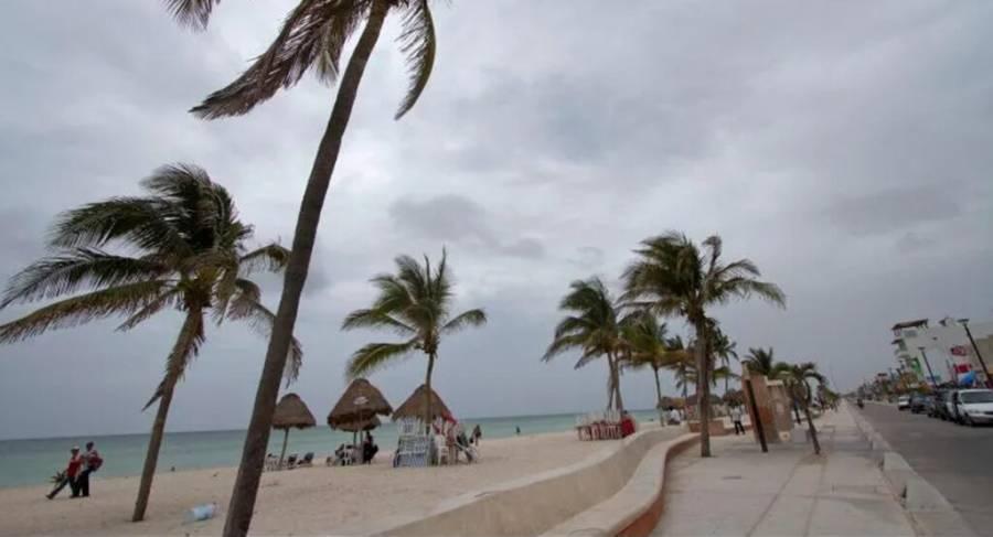 Así fue la llegada del huracán Delta en Quintana Roo