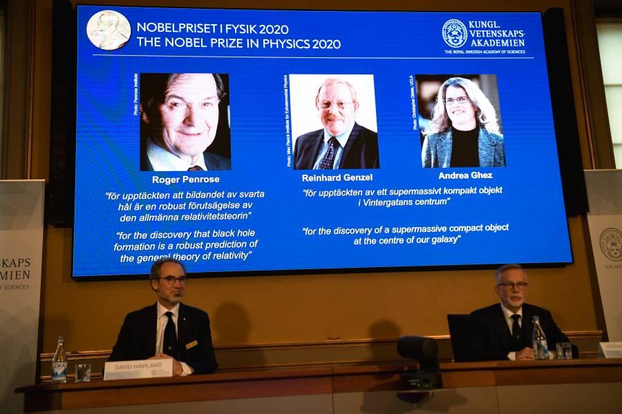 Nobel premia estudios sobre agujeros  negros, secreto más oscuro del universo