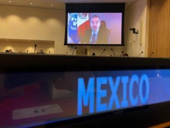 Juan Ramón de la Fuente, reitera compromiso de México en la Agenda 2030