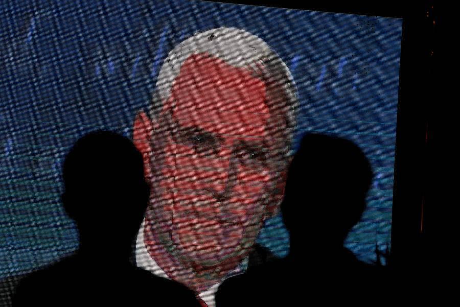 Debate entre candidatos a Vicepresidentes en Estados Unidos: Una mosca se robó el show