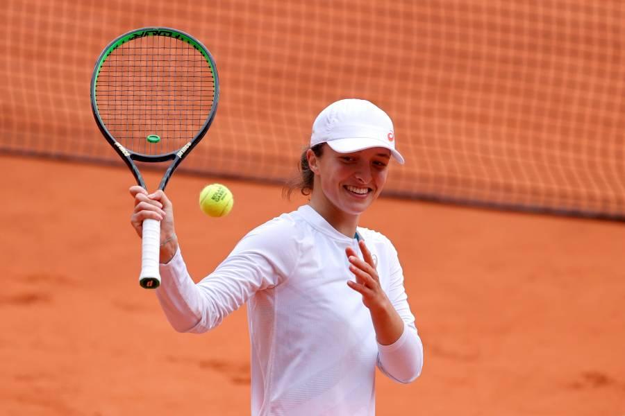 Lista la final femenil en Roland Garros: Swiatek vs Kenin