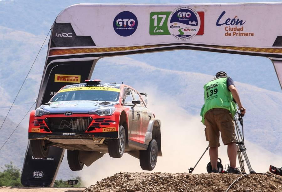 Cancelan etapa de Rally Guanajuato México 2021