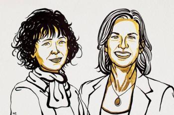 """Entregan Nobel de Química  a """"editoras de genes"""""""