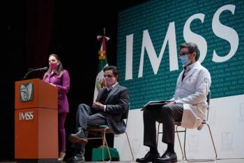 Pandemia generó una crisis laboral, reconoce el IMSS