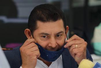 Alejandro Armenta, senador de Morena da positivo a Covid-19
