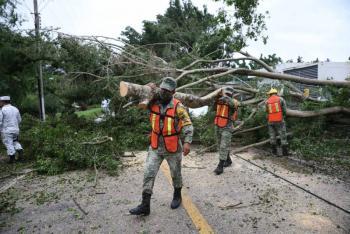 """Saldo blanco tras paso del huracán """"Delta"""", concluye Alerta Roja: CNPC"""