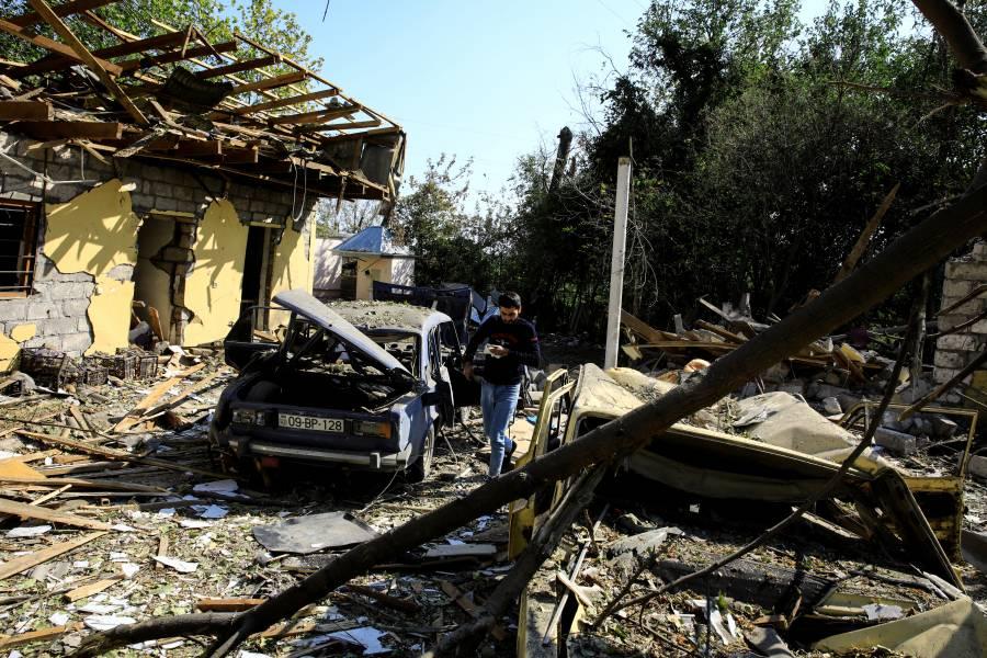 Este sábado habría un alto al fuego en Nagorno Karabaj