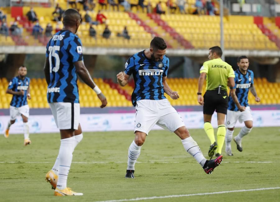 Tres jugadores del Inter de Milán, dan positivo a COVID-19