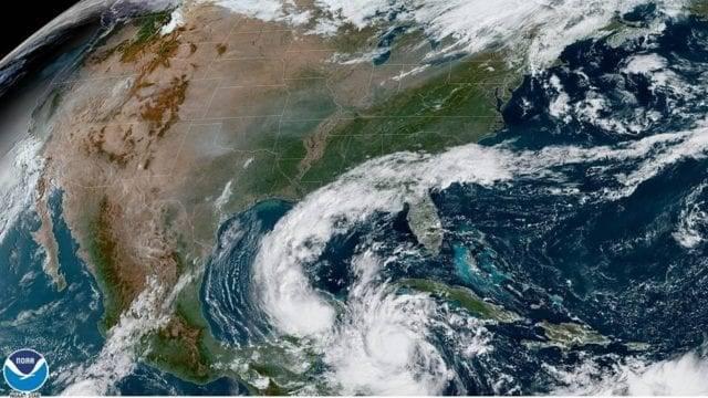 Huracán Delta recobró fuerza y se estima que impactará lluvias en Louisiana este viernes