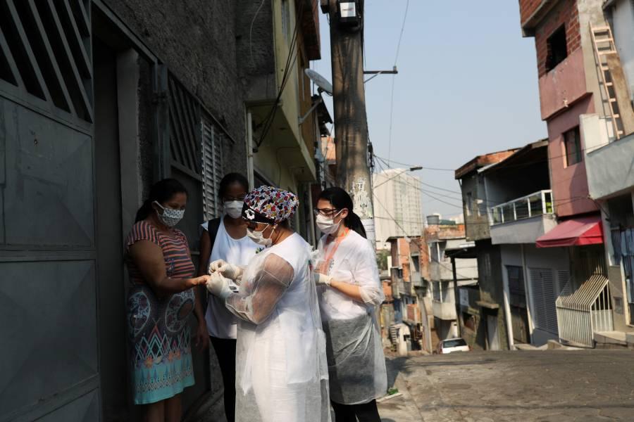 Muertes en Brasil por COVID-19 llegan a 149 mil