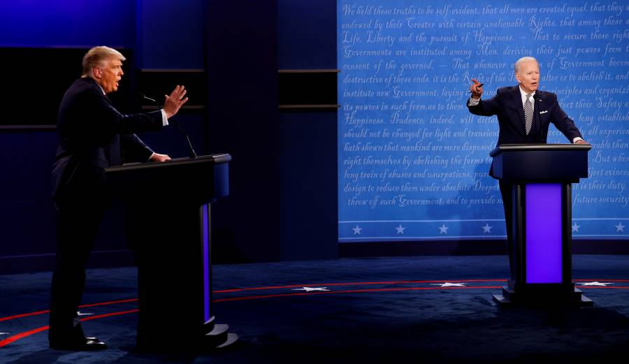 Comité de Debates plantea encuentro  virtual; Trump y Biden se niegan