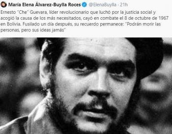 """Titular del Conacyt tuitea sobre el """"Che"""" Guevara; divide opiniones"""
