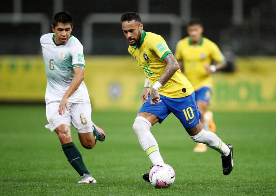 Brasil golea a Bolivia y muestra su poderío en inicio de eliminatoria al Mundial