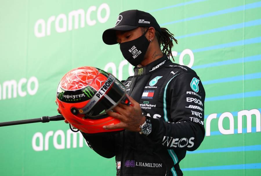 ¡Histórico! Hamilton gana el GP Eifel e iguala récord de Schumacher en al F1
