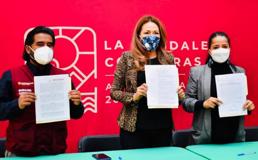 Llega Banco de Bienestar a Magdalena Contreras