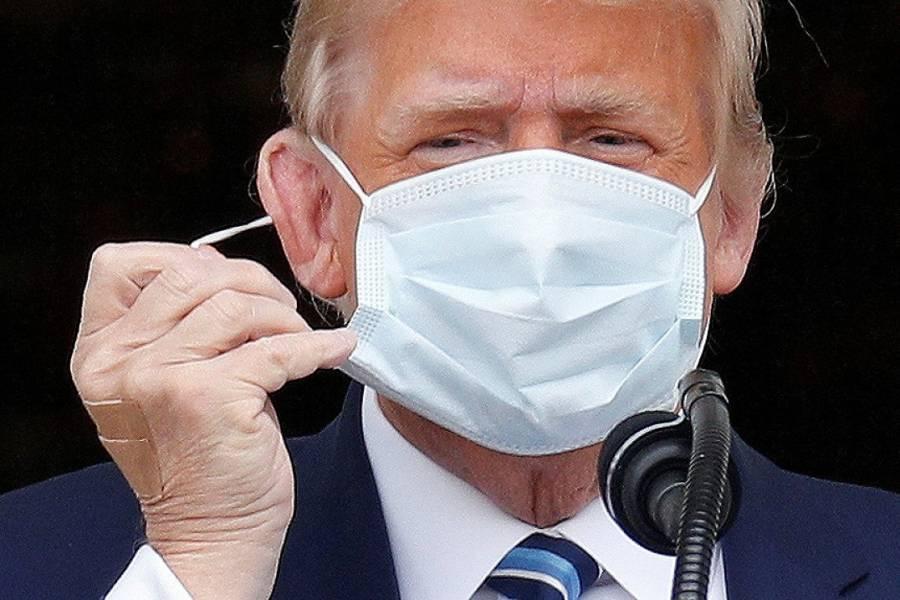 """""""Parece que soy inmune al Covid-19"""", dice Trump tras reaparición pública"""