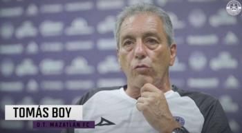 Tomás Boy podría retirarse en Mazatlán FC