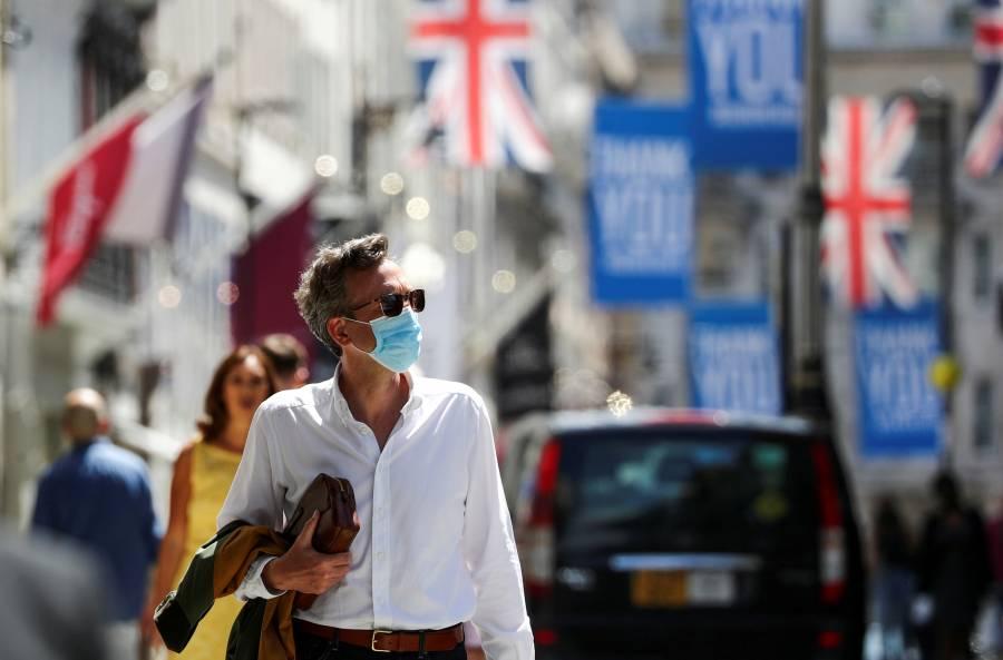Incrementan hospitalizaciones por COVID-19 en Reino Unido