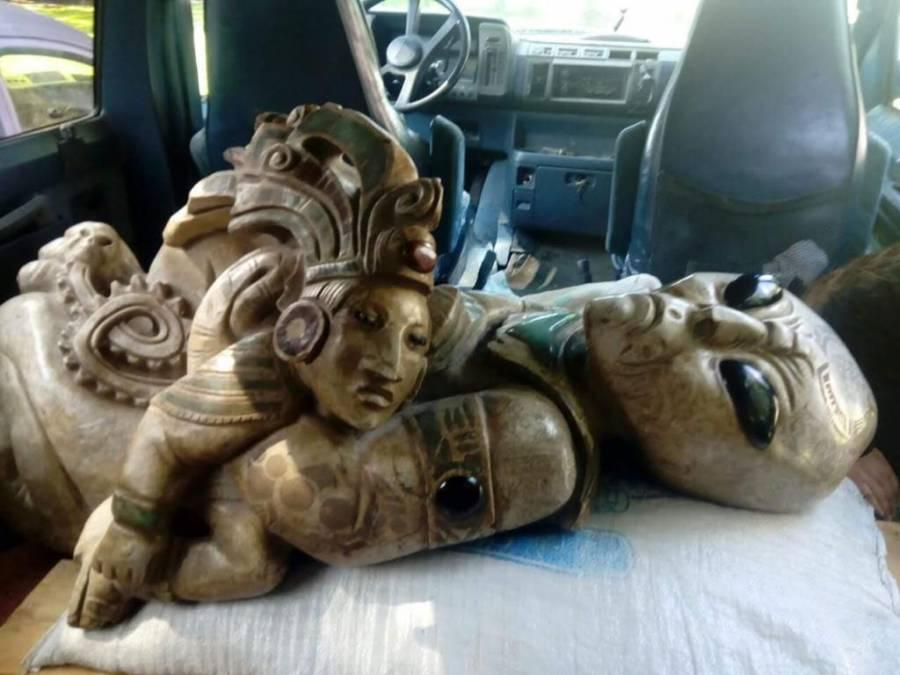 Desmienten hallazgo de figuras extraterrestres en excavaciones arqueológicas del Tren Maya