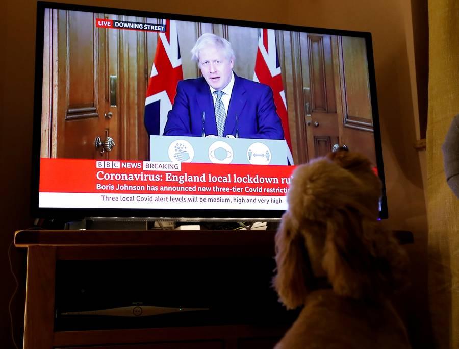 Boris Johnson ordena nuevos cierres en Reino Unido por COVID-19