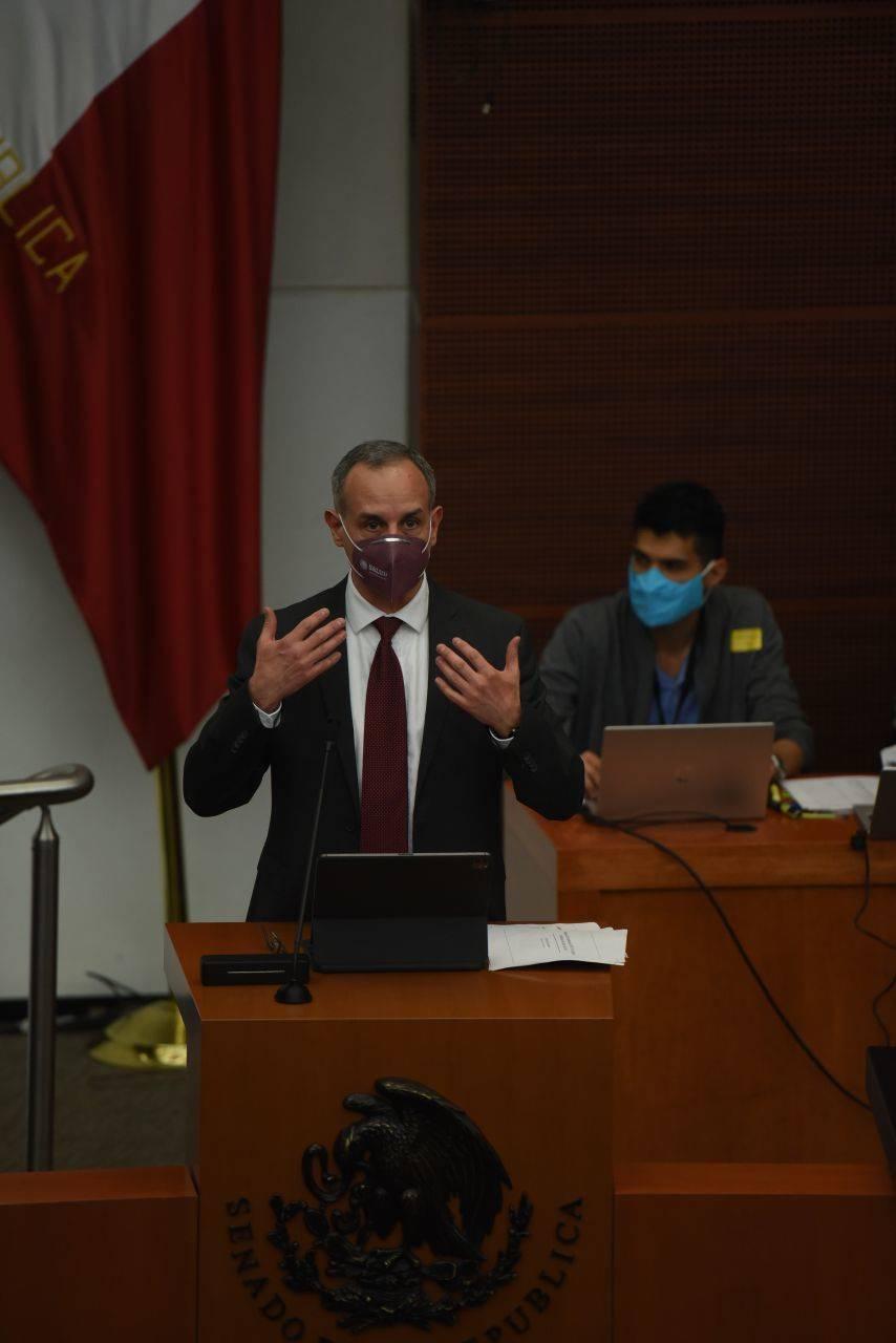 Gatell reclama a opositores condiciones de sector salud en administraciones pasadas