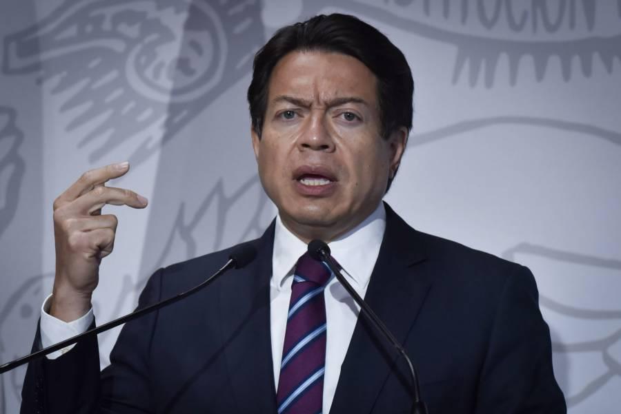 Mario Delgado pide a morenistas no tomar protesta a Muñoz Ledo