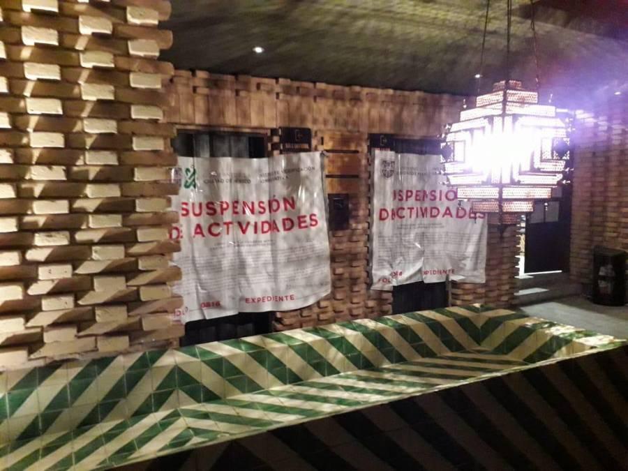 Invea clausura tres establecimientos de la alcaldía Cuauhtémoc por
