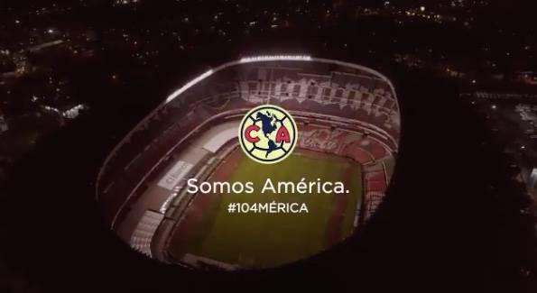 América festeja su 104 aniversario con emotivo video de sus finales en el Azteca